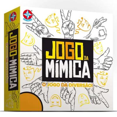 Jogo da Mímica - Estrela - Sapeca Brinquedos