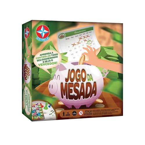 Jogo da Mesada - Estrela - Sapeca Brinquedos
