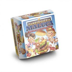 Jogo de Tabuleiro - Hamburgueria Maluca - Grow - Sapeca Brinquedos