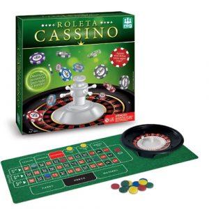 Jogo De Roleta Cassino - Nig Brinquedos - Sapeca Brinquedos