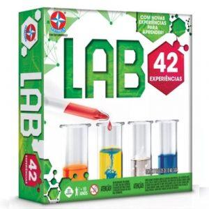 Jogo Lab 42 - Estrela - Sapeca Brinquedos