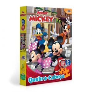 Quebra cabeça 100 peças Mickey