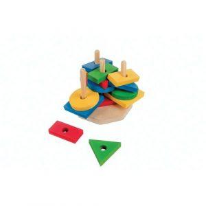 Jogos Torre de Formas Geométricas
