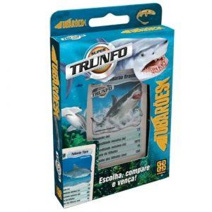 Super Trunfo Tubarões - Grow - Sapeca Brinquedos