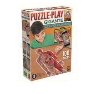 Grow Puzzle Play Gigante Corpo Humano - Sapeca Brinquedos