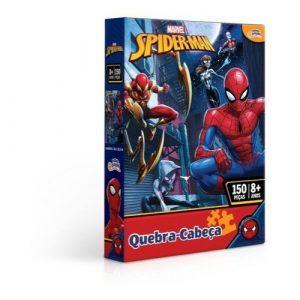 Quebra cabeça 150 peças Homem Aranha