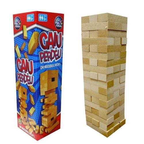 Jogo Caiu Perdeu - Pais & Filhos - Sapeca Brinquedos