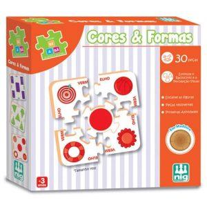 Jogos Pedagógicos Cores e Formas