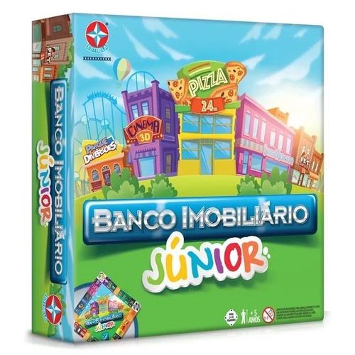 Jogo Banco Imobiliário Jr - Estrela - Sapeca Brinquedos