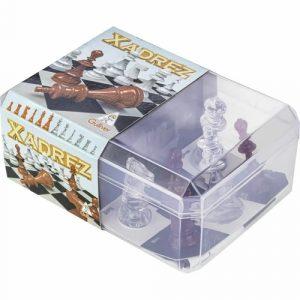 Jogo - Xadrez e Dama - Gulliver - Sapecca Brinquedos