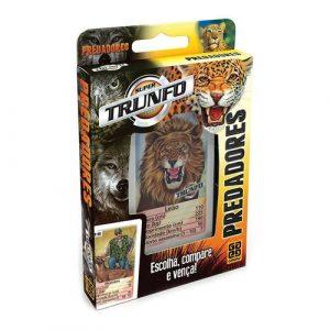 Super Trunfo Predadores - Grow - Sapeca Brinquedos