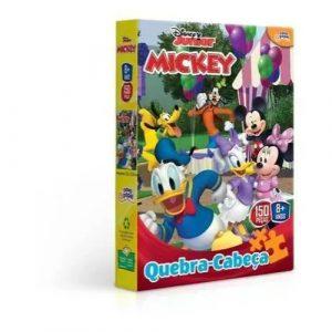 Quebra cabeça Mickey 150 peças