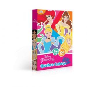 Quebra Cabeça 100 peças Princesas