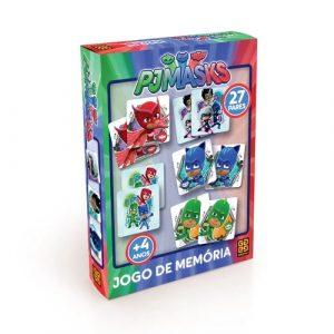 Jogo da Memória Pjmasks - Grow - Sapeca Brinquedos