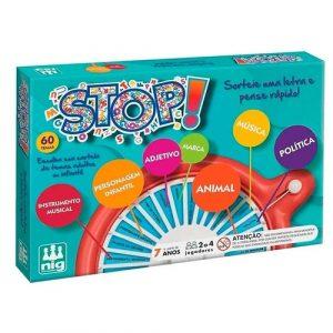 Jogo de Tabuleiro Novo Divertido - Nig Brinquedos - Sapeca Brinquedos
