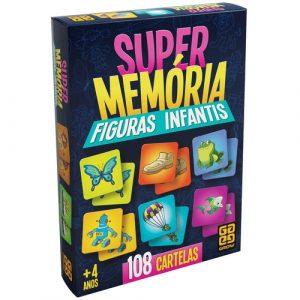 Jogo Super Memoria Figuras Infantis - Grow - Sapeca Brinquedos