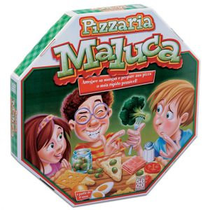 Jogo Pizzaria Maluca - Grow - Sapeca Brinquedos