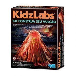 Kit construa se vulcão - Kosmika - Sapeca Brinquedos