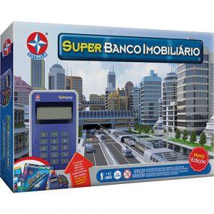 Jogo Super Banco Imobiliário - Estrela - Sapeca Brinquedos