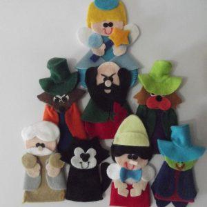 Sapeca Brinquedos - Dedoche Pinóquio
