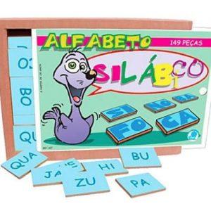 Jogos Alfabeto silábico 149 peças
