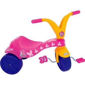 Triciclo Borboletinha - Xalingo - Sapeca Brinquedos
