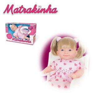 Boneca Matrakinha Com Cabelo 80 Frases - Super Toys - Sapeca Brinquedos