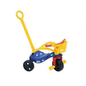 Triciclo Peixinho com empurrador - Xalingo - Brinquedos Sapeca