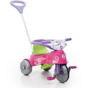Triciclo Ta Te Tico Rosa - Calesita - Sapeca Brinquedos