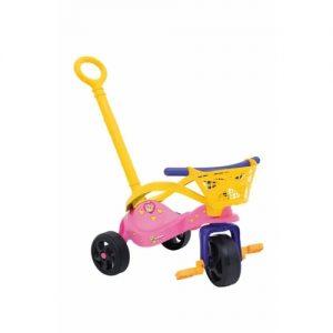 Triciclo Fofinha com empurrador - Xalingo - Sapeca Brinquedos